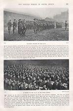1900 BOER WAR MOUNTED INFANTRY OF C I V, SUPPER AT INNER TEMPLE