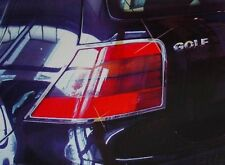 VOLKSWAGEN GOLF MK4 A4 1J EURO REAR TAIL LIGHT LAMP CHROME COVER TRIM LID