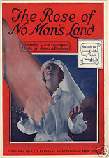 The Rose of No Man's Land 1918 Jack Caddigan James A Brennan 7x5 Inch Reprint