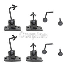 4 Pack Universal Satellite Surround Sound Speaker Ceiling Wall Mount Bracket CD1