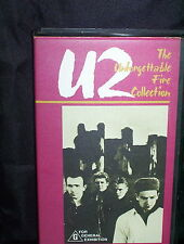 U2 UNFORGETTABLE FIRE COLLECTION - VHS VIDEO