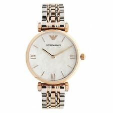 Emporio Armani Classic Mother of Pearl Ladies Stainless Steel Watch AR1683