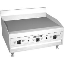 "Magikitchn MKG-36-ST 36"" Countertop Gas Griddle with Solid State Thermostat"