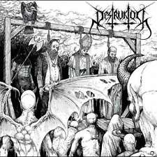 Destruktor - Opprobrium CD 2015 blackened death metal Hells Headbangers