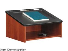 """Safco 8916CY Tabletop Lectern 24""""w x 18 1/2""""d x 13 3/4""""h Cherry"""