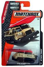 2015 Matchbox #54 MBX Heroic Rescue Attack Track tan