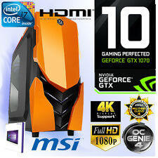 Gamer PC Intel I7 6700K 4x4,20Ghz-16GB-Nvidia GTX1070 8GB Gaming-Windows10-N1