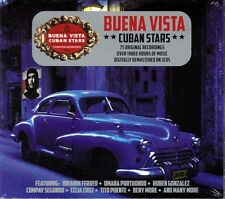 BUENA VISTA CUBAN STARS - 75 ORIGINAL RECORDINGS (NEW SEALED 3CD)