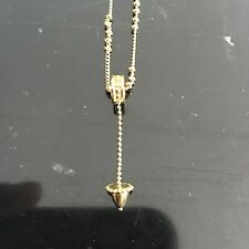 GIVENCHY ORIGINAL 1980S Gold Plated Lariat Lavalier Style NECKLACE