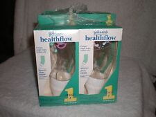 Lot of 6 healthflow Johnson's stage 1 newborn 4oz baby bottle bottles