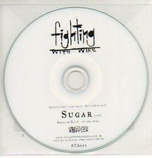 (757K) Fighting With Wire, Sugar - DJ CD