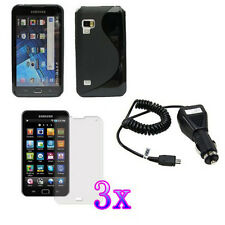 FOR Samsung Galaxy Player 5 Wifi 5.0 YP-G70 CASE COVER+ CHARGER+ FLIM PROTECTOR