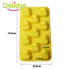 Duck Shape Ice Cube Tray Silicone/Rubber Chocolate Muffin DIY Mould Jello Candy