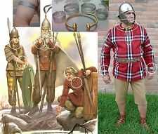 Vercingetorix Celtic Gual Gallic torc Celt Chieftain tunic Armilla band Germanic