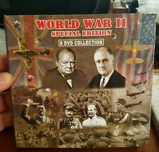 World War II (2) Special Edition 8 DVD Collection DVD MOVIE ������ FREE POST