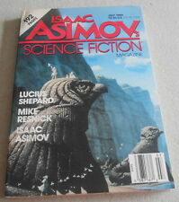 ISAAC ASIMOV SCIENCE FICTION MAGAZINE N°7..Ed US..LUCIUS SHEPARD..MIKE RESNICK
