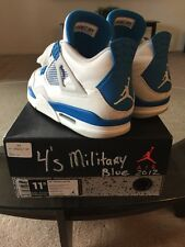 Air Jordan 4 Retro Military Blue Sz11.5 Jordans 1 2 3 4 5 6 7 8 9 10 11 12 Nike
