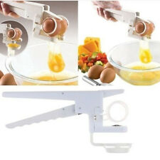 Egg Cracker Handheld York White Separator Manual Egg Breaker Kitchen Tool