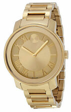 Movado Bold Gold-Tone Mens Watch 3600197