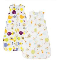Grobag Twin Saver Pack Baby/Toddler Sleeping Bag 1 Tog 6-18m Boy/Girl Sleepsack