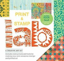 Print and Stamp Lab Kit : A Creative Kit for Making Your Own Stamps -...
