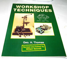 RDGTOOLS WORKSHOP TECHNIQUES ENGINEERING BOOK GEO H THOMAS
