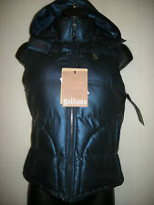 NEW Galliano blue metallic body warmer UK8 RRP £645