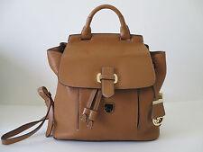 New Michael Kors Romy Medium Acorn Leather Shoulder Backpack