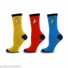 Star Trek Original Series Socks 3-Pack Set