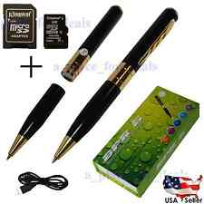 8GB Hidden Nanny Spy Camera Pen Mini DVR Cam Recorder Video and Audio Recording