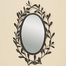 Wandspiegel Toscana 75 x 43cm Spiegel Oliven Italien Blätter Provence Neu