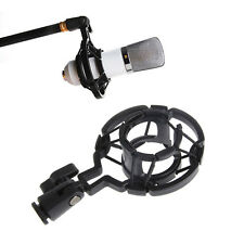 Universal Pro Microphone Mic Shock Mount Holder Clip Stand For Studio Recording