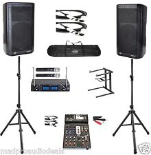 karaoke equipment professional karaoke system Peavey DM112 Series compact system