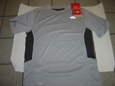 "MENS NORTH FACE GREY VAPERWICK ""DIRT MERCHANT"" MOUNTAIN BIKE S/S JERSEY SIZE M"