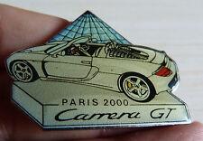 GRAND PIN'S PORSCHE CARRERA GT PARIS 2000 LE LOUVRE