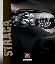 Fiat Strada 04 / 2012 catalogue brochure polonais Strada Lumberjack