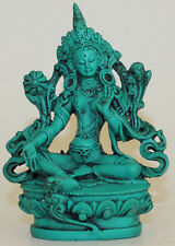 Resin, Small Tara Buddha Statue, Home Decor,Hand Craved from Nepal, CL-202, New