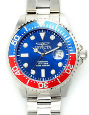 Invicta Men's 22823 Pro Diver SS 47mm Analog Swiss Quartz Blue Dial Watch