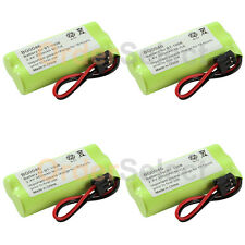 4 Cordless Home Phone Rechargeable Battery 350mAh NiCd for Uniden BT-1008 BT1008
