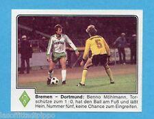 GERMANIA FUSSBALL 80-PANINI-Figurina n.66- WERDER BREMEN -Rec