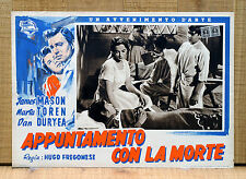 APPUNTAMENTO CON LA MORTE fotobusta poster affche One-Way Street James Mason