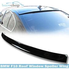 Painted Color Black 668 BMW 5-Series F10 Saloon 3D-Type Visor Roof Spoiler Wing