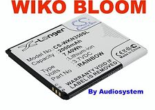 BATTERIA DA 2000Mah 7.4WH PER WIKO MOBILE BLOOM NUOVA RICAMBIO M172 N350