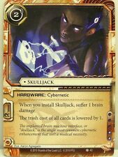 Android Netrunner lunaires - 1x skulljack #042 - Chrome City