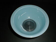 Blue Pyrex Primary Fiesta Color Clear Glass Bottom RAINBOW Mixing Bowl #322