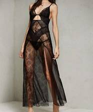 NEW! Victoria's Secret Very Sexy Limited Edition Fishnet & Lace Gown Size Small