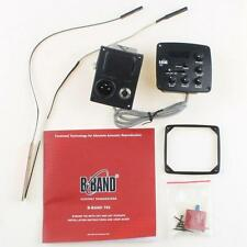 Original B-BAND Acoustic Guitar Pickup System T65 XOM EQ Tuner