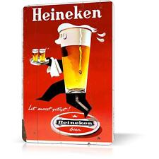 METAL TIN SIGN HEINEKEN RARE POSTER RUSTED Vintage Decor Home Bar Pub Garage Wal