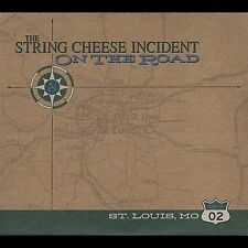 THE STRING CHEESE INCIDENT ON THE ROAD ST. LOUIS MO 02 CD BRAND NEW BIN
