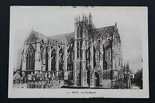 Carte postale ancienne CPA METZ - La Cathédrale